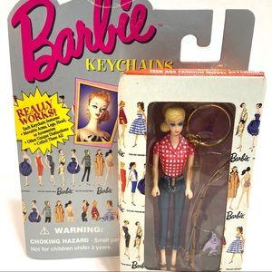 Barbie Picnic KeyChain